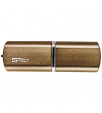 Память SiliconPower USB Flash 32GB USB2.0 Luxmini 720 Bronze (металл.корпус)